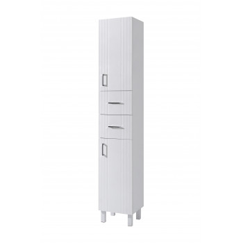 "The floor standing high storage cabinet ""PROXI"", white"