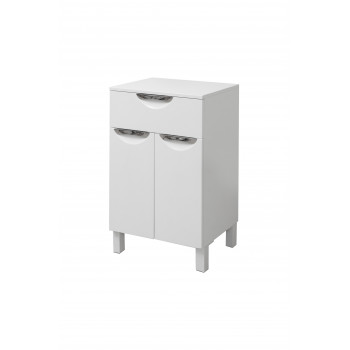 Floor standing vanity drawer unit LAURA (50 cm.) - white