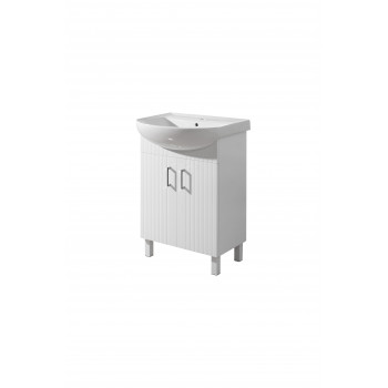 "Floor standing Washbasin Cabinet ""Proxi-50"", white"