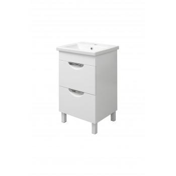 "Washbasin Cabinet ""LAURA 50-2"", white"