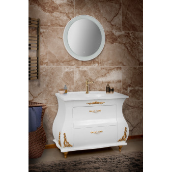 "Washbasin Сabinet ""Valencia Collection 100"", beige"