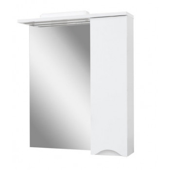 """Дзеркало """"Смайл 70"""" з шафкою для ванної кімнати"""