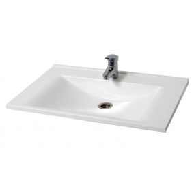 Bathroom Washbasin ELIT-100-N, white