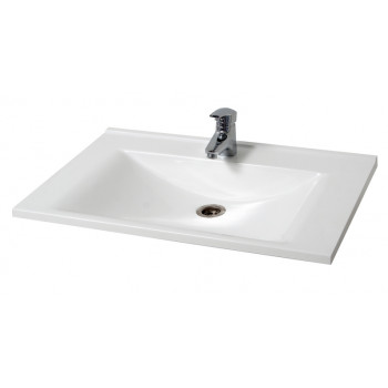 Bathroom Washbasin ELIT-100-N, white