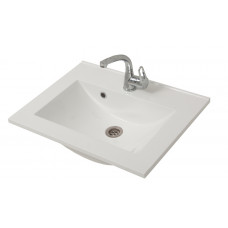Bathroom Washbasin ELIT-60-N, white