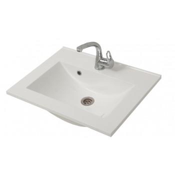 """Умивальник """"Еліт-60-Н"""", білий для ванної кімнати"""