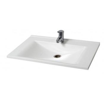 """Умивальник """"Еліт-725"""", білий для ванної кімнати"""