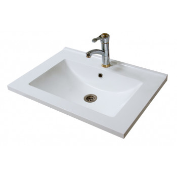 """Умивальник """"Еліт-80-G"""", білий для ванної кімнати"""