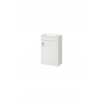 """Wall-mounted Washbasin Cabinet """"ELIT-80-N"""" (80 cm.), white"""