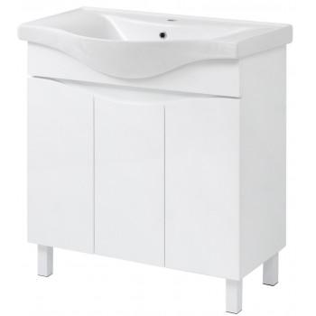 "Floor standing Washbasin Cabinet ""SMILE"" (80 cm.)"