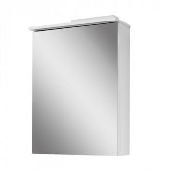 """Дзеркало """"Тріо"""" 50, біле для ванної кімнати"""