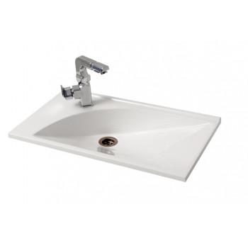 """Умивальник """"Грація"""" білий для ванної кімнати"""