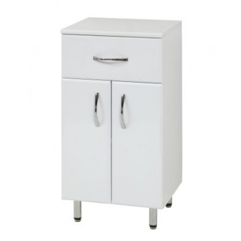 "Floor standing vanity drawer unit ""К-1"", white"