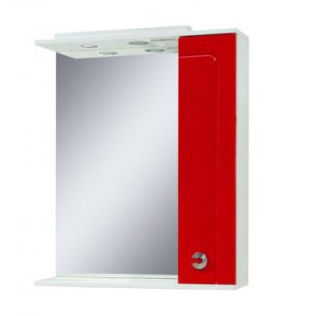 """Дзеркало """"Еліза 70"""", червоне для ванної кімнати"""