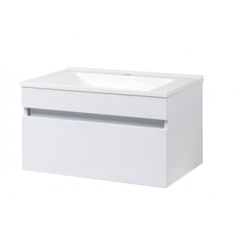 "Wall-mounted Washbasin Cabinet ""ELIT-725-N"", white"