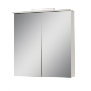"""Дзеркало """"Альфа"""" 76, біле для ванної кімнати"""