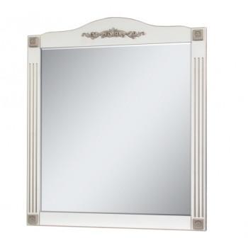 """Дзеркало """"Романс"""" 100 (золота/срібна патина) для ванної кімнати"""