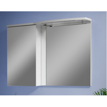 """Дзеркало """"Славута"""" 120, біле для ванної кімнати"""