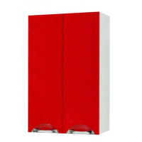 "Wall-Mounted Vanity Unit ""LAURA"" (50 cm.), red"