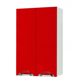 """Wall-Mounted Vanity Unit """"LAURA"""" (50 cm.), red"""