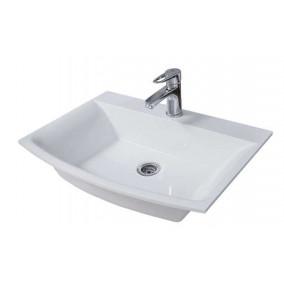 """Bathroom Washbasin """"SOPRANO"""", white"""