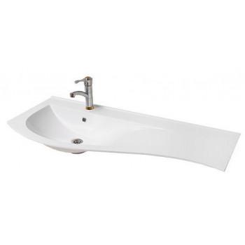 """Умивальник """"Хвиля-110"""", білий для ванної кімнати"""