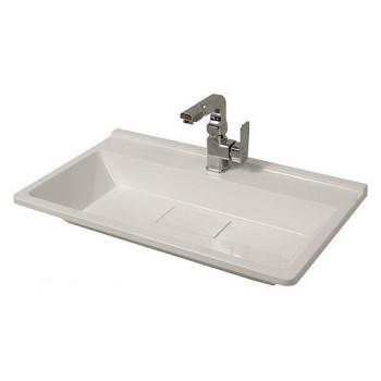 """Умивальник """"Юлія 70"""", білий для ванної кімнати"""