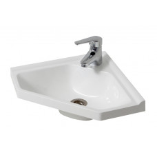 Bathroom Washbasin CORNER 40, white