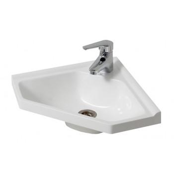 """Умивальник """"Кутовий 40"""", білий для ванної кімнати"""