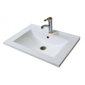Bathroom Washbasin ELIT-65-N, white