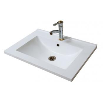 """Умивальник """"Еліт-65-Н"""", білий для ванної кімнати"""