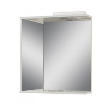 """Дзеркало """"Грація"""", біле для ванної кімнати"""