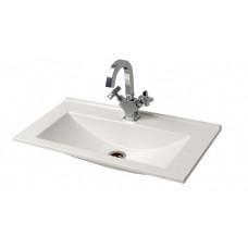 "Bathroom Washbasin ""ROCCA"", white"