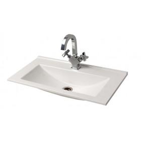 "Bathroom Washbasin ""ROCCA"", white"