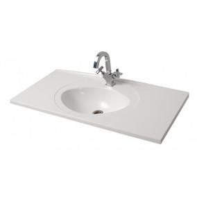 "Bathroom Washbasin ""ROMANCE 100"", white"