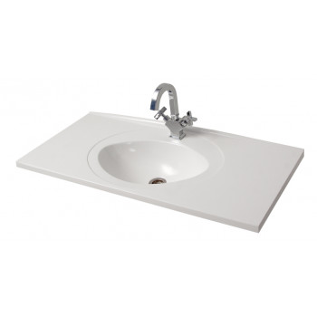 """Умивальник """"Романс-100"""", білий для ванної кімнати"""