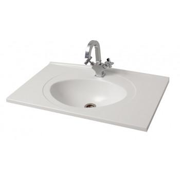 """Умивальник """"Романс-80"""", білий для ванної кімнати"""