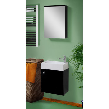 "Washbasin Cabinet ""OBI"", black"
