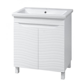 "Washbasin Cabinet ""ATLANTA""(50 cm.), white"