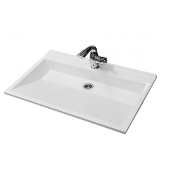 Bathroom Washbasin ALFA 76, white