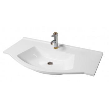 """Умивальник """"Вега 100"""", білий для ванної кімнати"""
