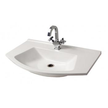 """Умивальник """"Вега 85"""", білий для ванної кімнати"""
