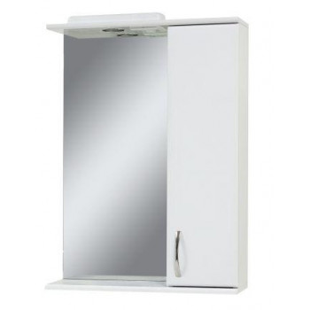 "Mirror with a cabinet ""Z"" (60 cm), white"