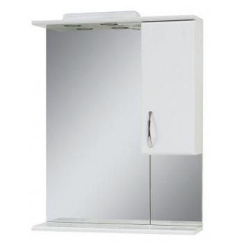 """Дзеркало з шафкою """"Z-65"""", біле для ванної кімнати"""